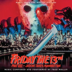 Friday the 13th Part VIII: Jason Takes Manhattan Soundtrack (CD) [album cover artwork]