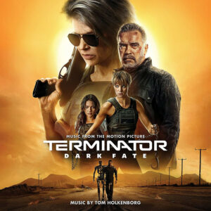 Terminator: Dark Fate (Music From The Motion Picture) Soundtrack Score (CD) [album cover artwork]