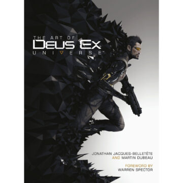 The Art of the Deus Ex Universe (Hardback book) [front cover]