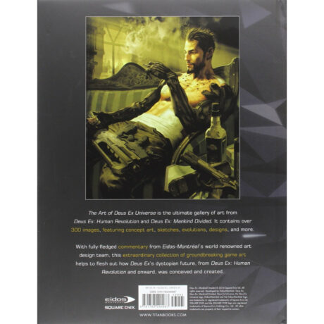 The Art of the Deus Ex Universe (Hardback book)