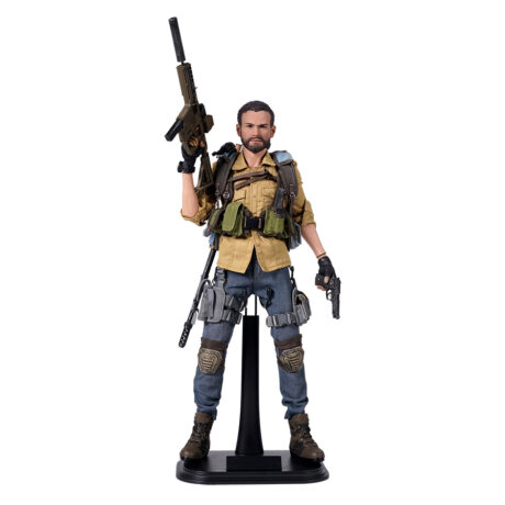 Tom Clancy's The Division 2: Brian Johnson Articulated Figure (and packaging) from the exclusive Phoenix Shield Edition (figure)