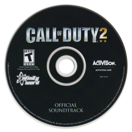 Call of Duty 2 Soundtrack (CD) by Graeme Revell [stand-alone disc]