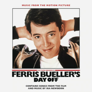 Ferris Bueller's Day Off (Music from the Motion Picture) [CD] [album cover artwork]