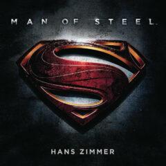 Man of Steel: Soundtrack Score (CD) by Hans Zimmer [album cover artwork]