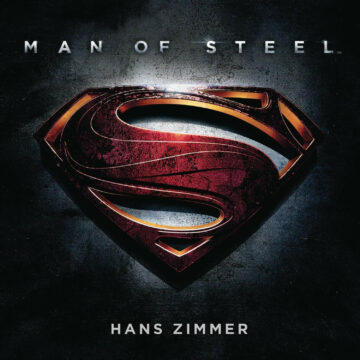 Man of Steel: Soundtrack Score (CD) by Hans Zimmer [album cover artwork]