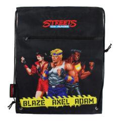 Official Streets of Rage Drawstring Cinch Bag (SEGA)