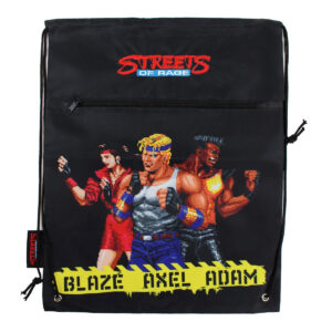 Official Streets of Rage Drawstring Cinch Bag (SEGA)