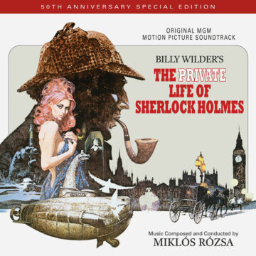 The Private Life of Sherlock Holmes Soundtrack Score (2xCD) [album cover artwork]