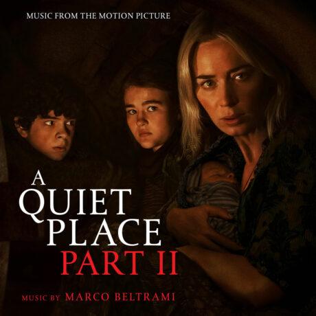 A Quiet Place Part II Limited Edition Soundtrack Score (CD)
