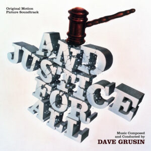 And Justice for All Soundtrack (CD) [album cover artwork]