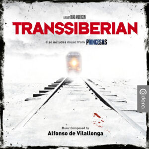 Transsiberian Soundtrack (CD) (also features music from Princesas) [album cover artwork]