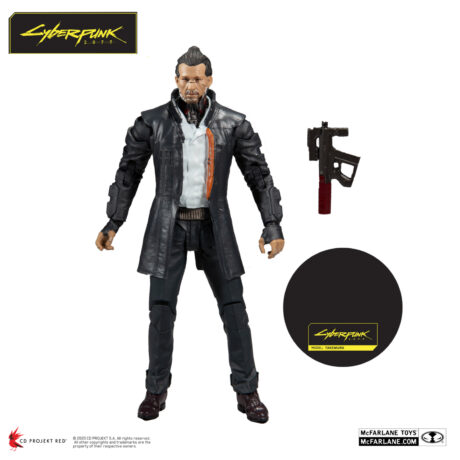 7″ Takemura Action Figure (Cyberpunk 2077) [with accessories]