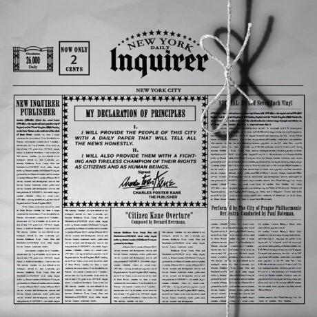 Citizen Kane Overture (7″ Inch Etched Vinyl)