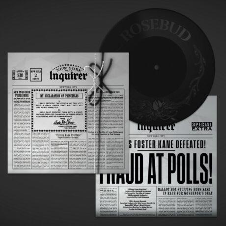 Citizen Kane Overture (7 Inch Etched Vinyl)
