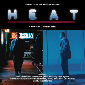 Heat: Music From the Motion Picture [2xLP] [VINYL] (album cover artwork)