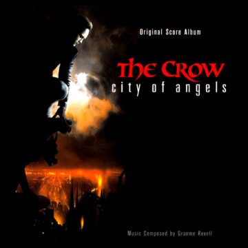 The Crow: City of Angels - Original Score Album (CD) [album cover artwork]