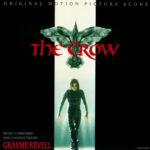 The Crow Original Motion Picture Soundtrack Score (CD) [album cover artwork]