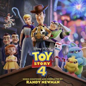 Toy Story 4 (Original Motion Picture Soundtrack) [CD] [album cover artwork]