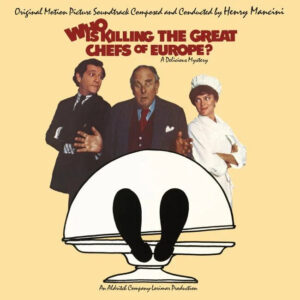 Who Is Killing The Great Chefs Of Europe Soundtrack (CD) [Limited Edition] [album cover artwork]