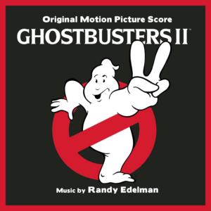 Ghostbusters II: Original Motion Picture Soundtrack Score (CD) [album cover artwork]