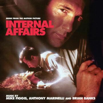 Internal Affairs: Soundtrack Score (CD) [Limited Edition] [album cover artwork]