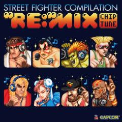 "Street Fighter Compilation ""RE:""MIX Chiptune Soundtrack (CD) [album cover artwork]"