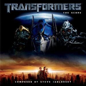 Transformers: The Score Soundtrack (CD) [album cover artwork]