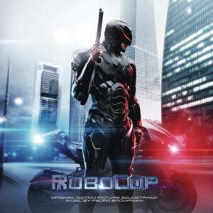 RoboCop (2014) Original Motion Picture Soundtrack (CD) [album cover artwork]