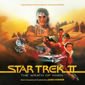 Star Trek II: The Wrath of Khan Remastered and Expanded Soundtrack [2xCD] (album cover artwork)