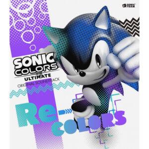 Sonic Colors: Ultimate Original Soundtrack Re-Colors [2xCD] (album cover artwork)