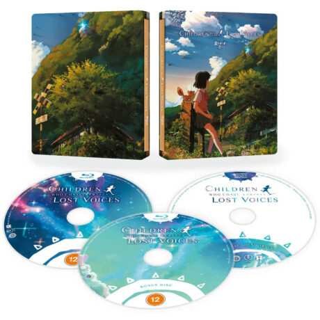 Children Who Chase Lost Voices from Deep Below – Collector's Edition SteelBook [Blu-ray] [presentation]