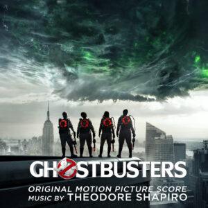 Ghostbusters (2016) Original Motion Picture Soundtrack Score (CD) [album cover artwork]